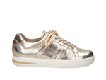 Caprice Light Gold Metal Trainer