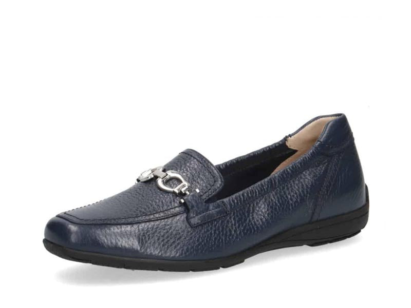 Caprice Classic Buckle Loafer Navy