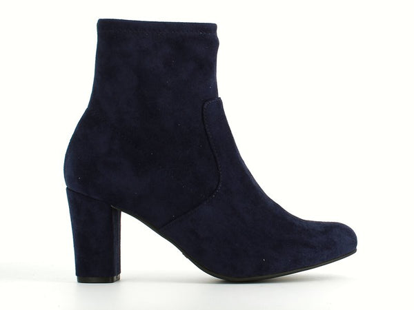 Caprice Stretch Ankle Boot Navy