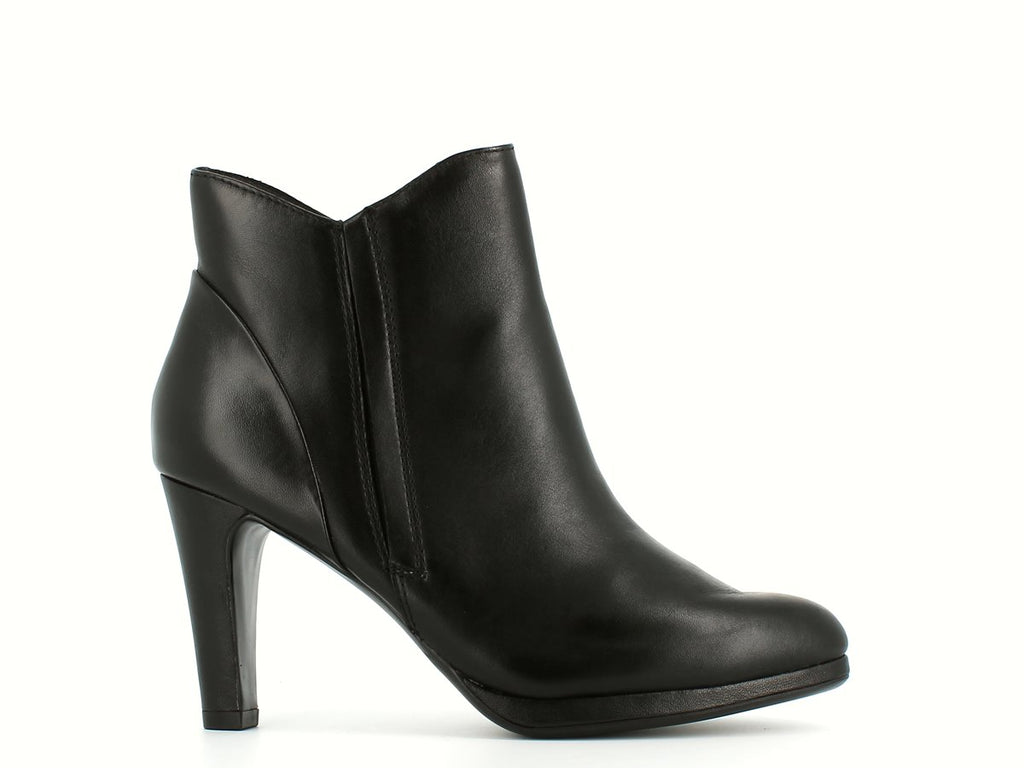 Caprice High Ankle Boot Black