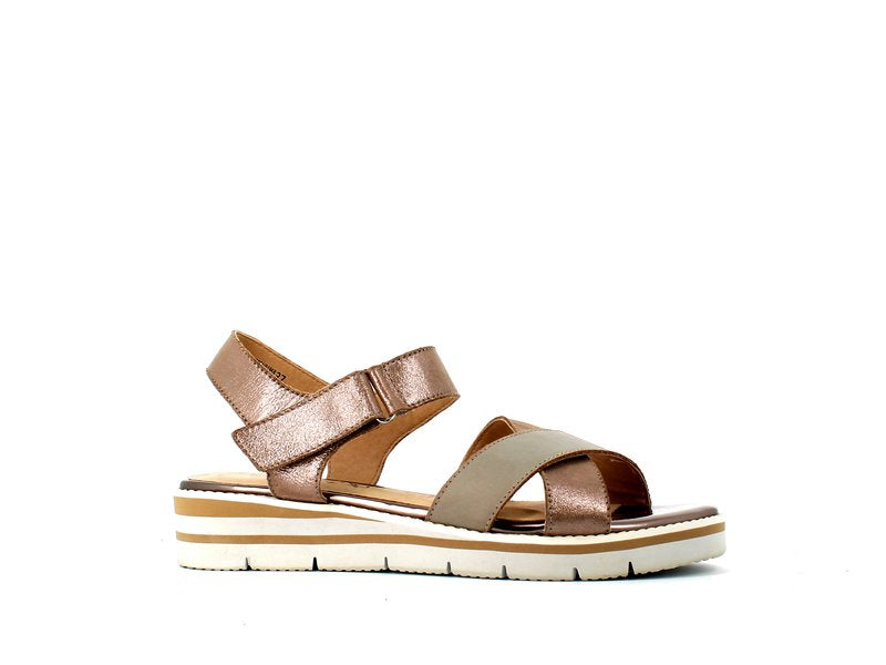 Caprice Sandal Taupe