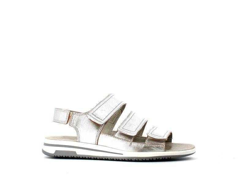 Caprice Low Sandal Silver