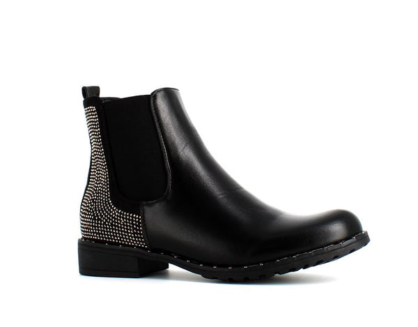 Soda Rain Ankle Boot Black