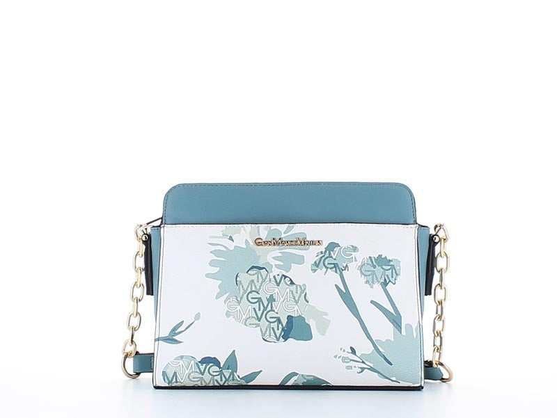 Elle Fashion Bag Floral Water Blue