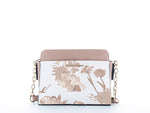Elle Fashion Bag Floral Nude