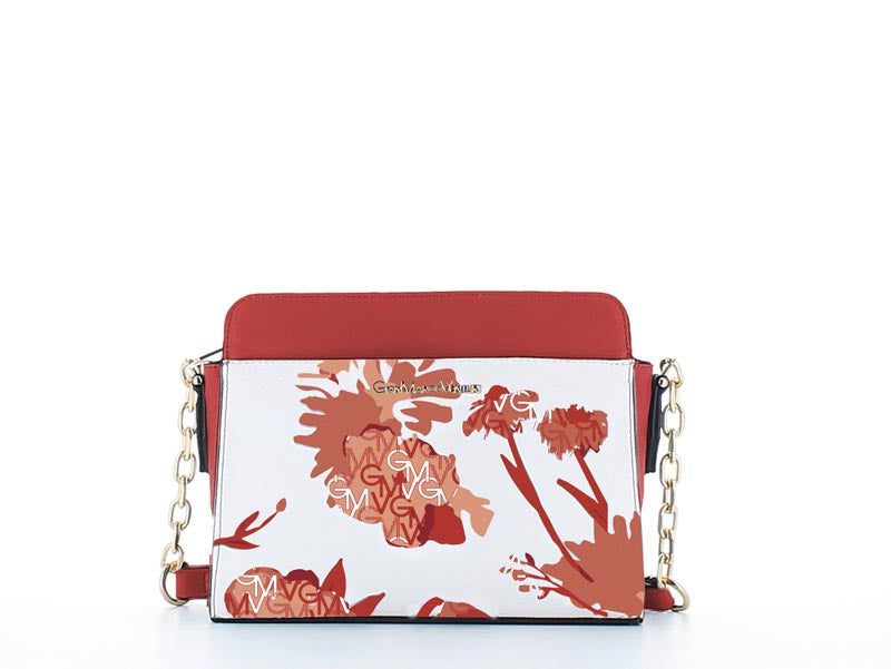 Elle Fashion Bag Floral Red