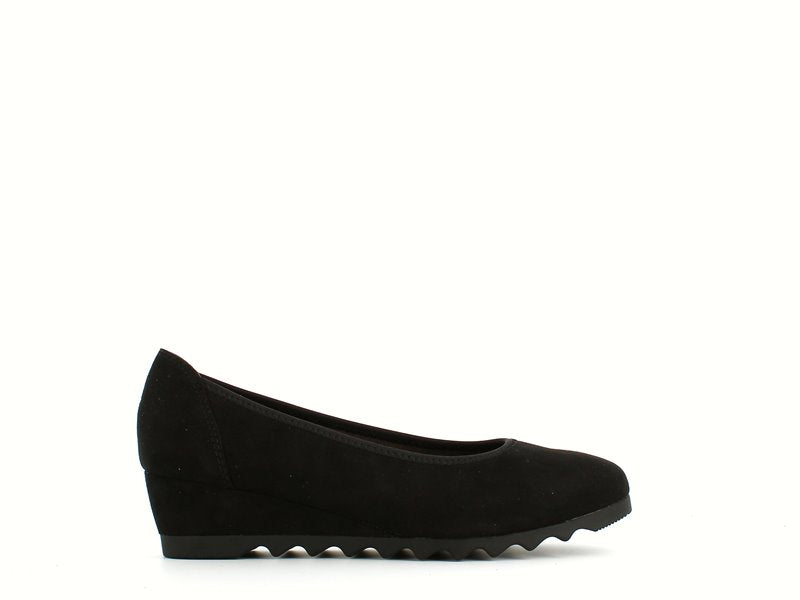 Jana Wedge Pump Black