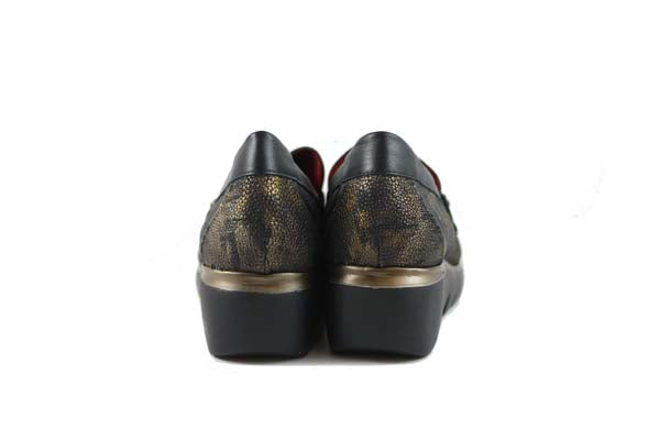 Jose Saenz Slip On Black