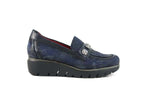 Jose Saenz Slip On Navy