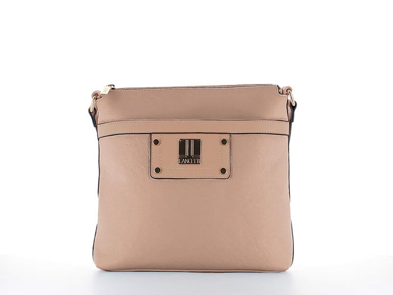 Elle Fashion Cross Body Bag Nude