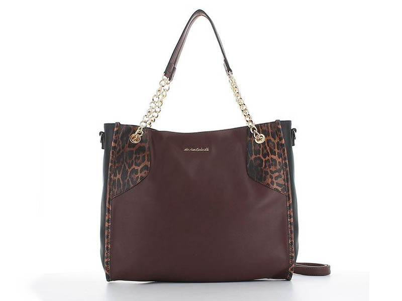Elle Fashion Shopper Brown Leopard