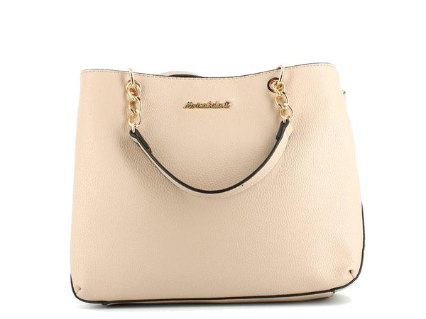 Elle Fashion Bag Double Sided Beige