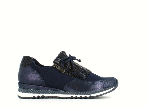 Marco Tozzi Reptile Trainer Navy