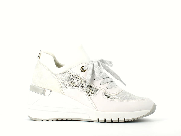 Marco Tozzi Wedge Trainer White
