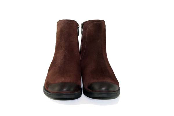 Cinders Diamond Ankle Boot Brown
