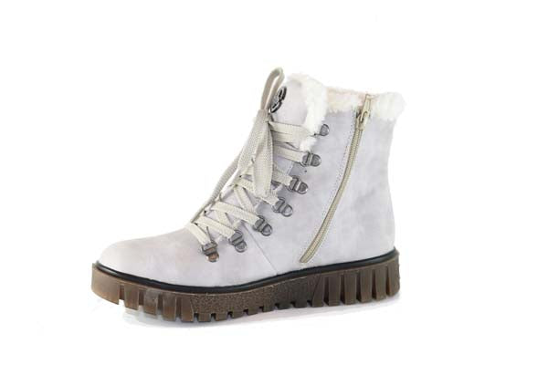 Rieker Ankle Boot White