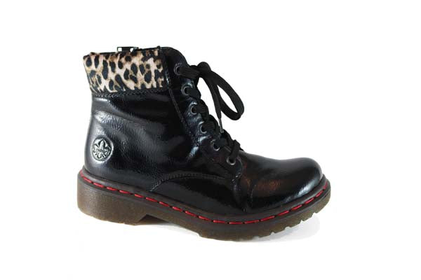 Rieker Ankle Boot Black Leo