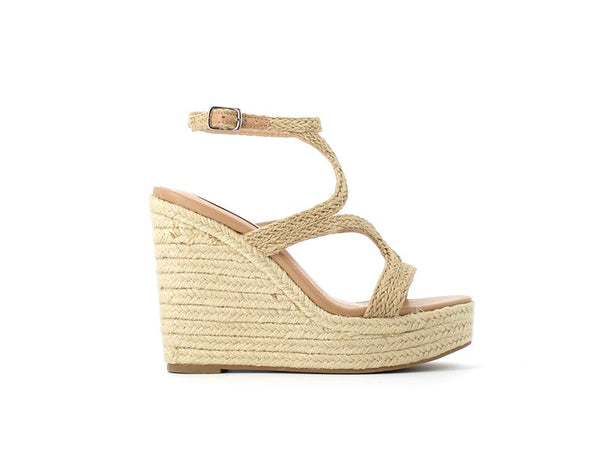 Steve Madden Sense Wedge Natural