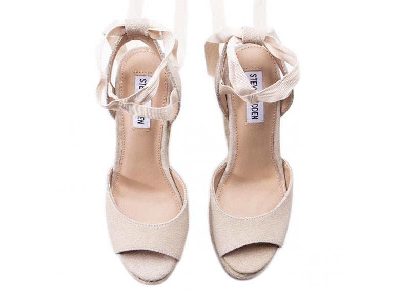 Steve Madden Secret Wedge Natural