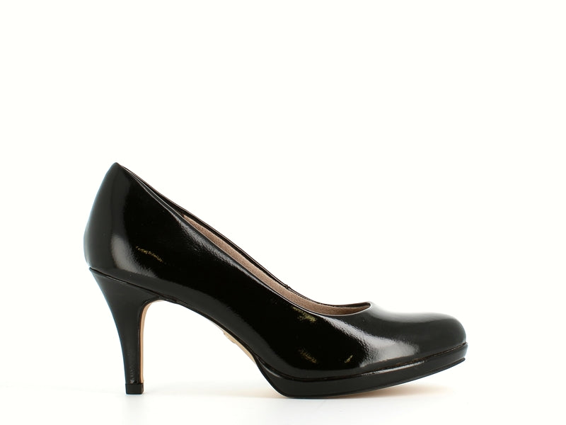 Tamaris Pump Black Patent