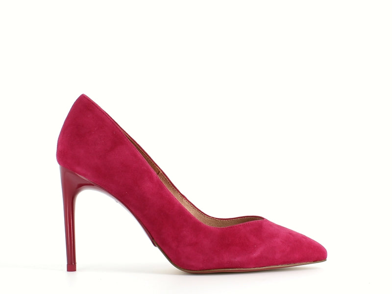 Tamaris Stiletto Cranberry Suede