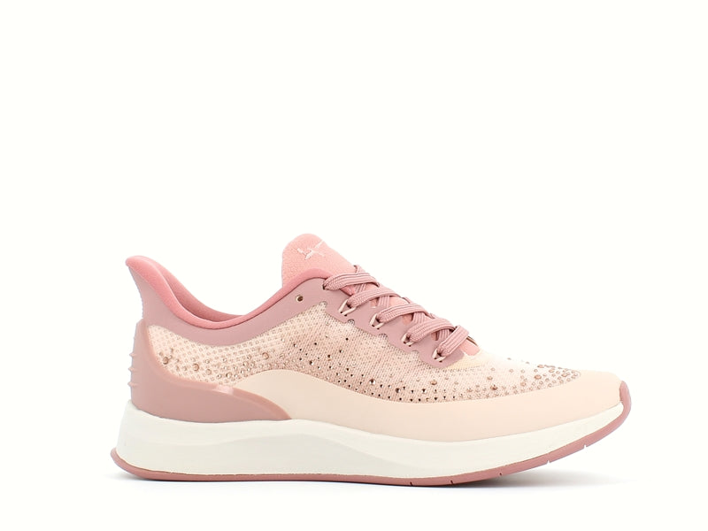 Tamaris Textile Trainer Rose Comb