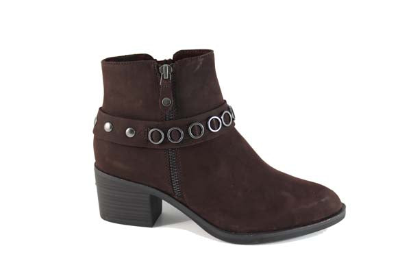 Tamaris Ankle Boot Amarone Suede