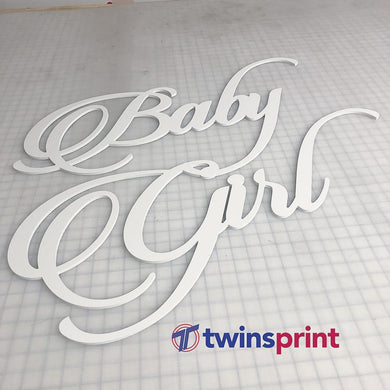 SINTRA NAME-Cut (WHITE) - Twins Print