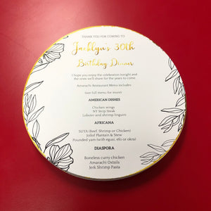 THANK YOU / MENU CARDS - Twins Print