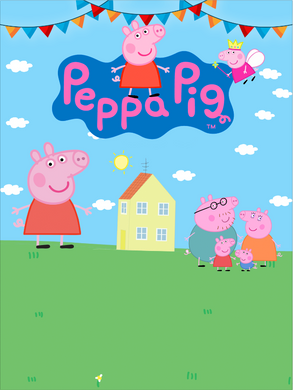 PEPPA PIG  BACKDROP