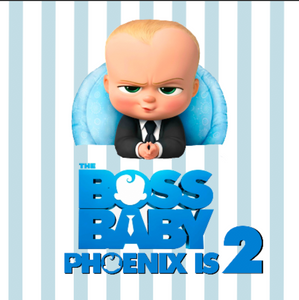 BOSS BABY 02 BACKDROP - Twins Print