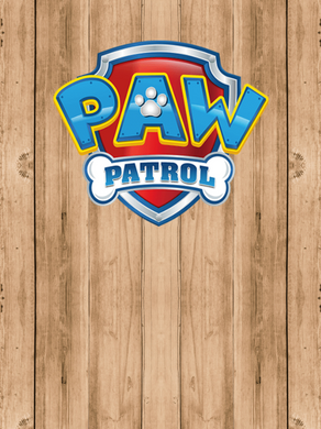 PAW PATROL 03  BACKDROP