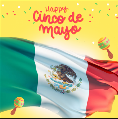 CINCO DE MAYO  BACKDROP 001 - Twins Print