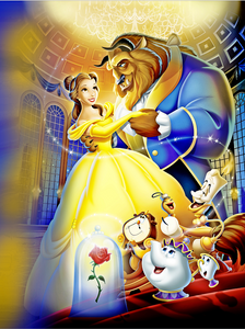 BEAUTY AND THE BEAST BACKDROP - Twins Print
