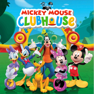 MICKEY MOUSE  BACKDROP / CLUB HOUSE 01