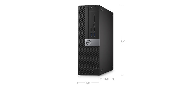 Dell Optiplex 7040 SFF Intel Core i5-6500 DVDRW Wins 10 Pro Refurbished