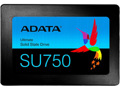 "NEW! ADATA Ultimate SU750 2.5"" 512GB SATA III 3D TLC Internal Solid State Drive (SSD) ASU750SS-512GT-C"