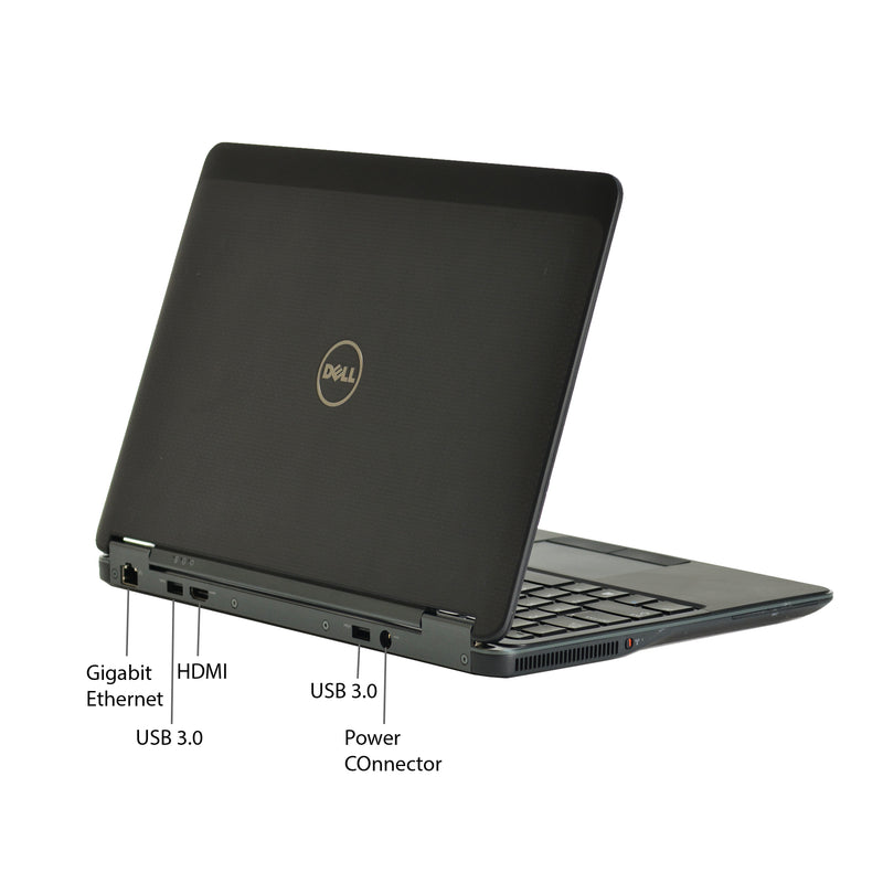 Dell Latitude Ultrabook E7240 TOUCHSCREEN i5-4300U Solid State Drive W10P Refurbished
