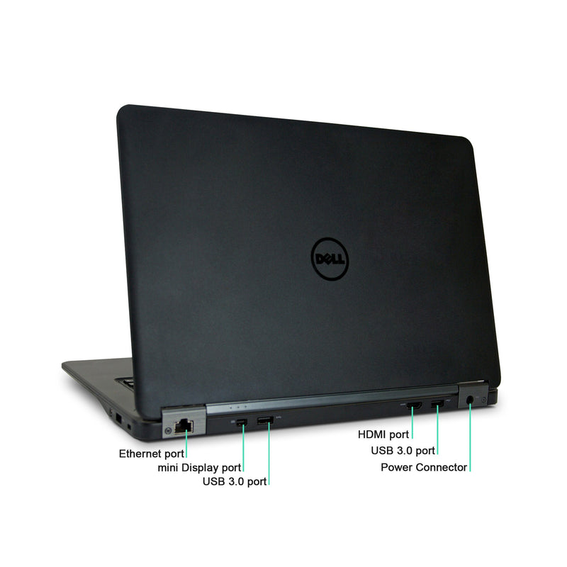dell latitude e7450 touchscreen ports
