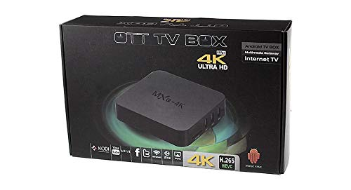 Ott tv box 4k ultra Hd mxq -4K Brand New!