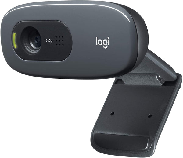 Logitech C270 HD Webcam, 720p Widescreen Video Calling