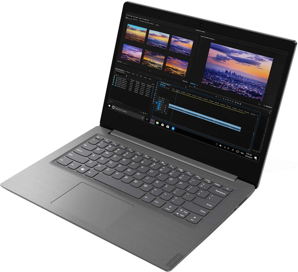 "Lenovo V14-ARE 82DQ000KUS 14"" Notebook - Full HD - 1920 x 1080 - AMD Ryzen 5 4500U Hexa-core (6 Core) 2.30 GHz - 4 GB RAM - 1 TB HDD - Iron Gray - Windows 10 Pro - AMD Radeon Graphics - Twisted nematic (TN) - English Keyboard"