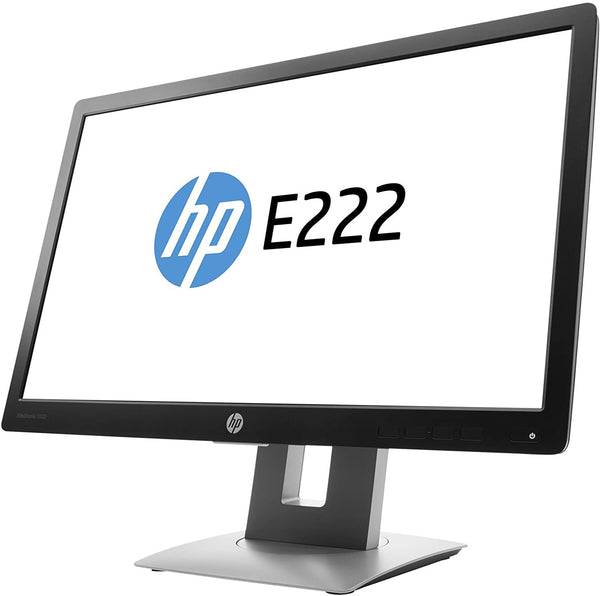 HP Elite Display E222 21.5'' LED Monitor FHD (1920 X 1080) 60Hz 7ms Refurbished