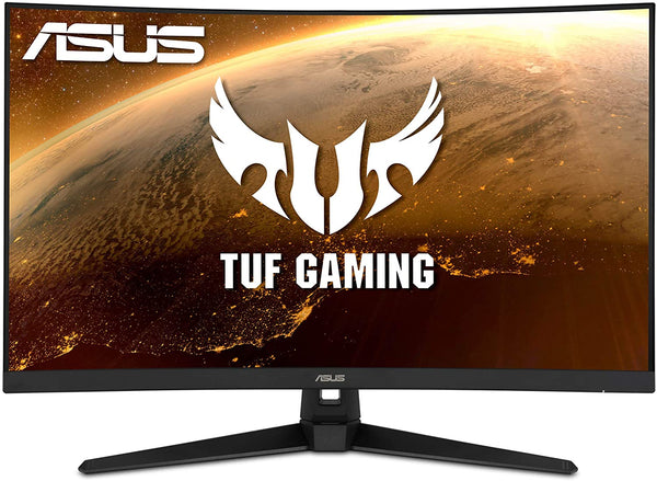 "ASUS TUF Gaming VG328H1B 32"" Curved Monitor, 1080P Full HD, 165Hz (Supports 144Hz), Extreme Low Motion Blur, Adaptive-sync, FreeSync Premium, 1ms, Eye Care, HDMI D-Sub - 1-Year Manufacturers Warranty - NEW"