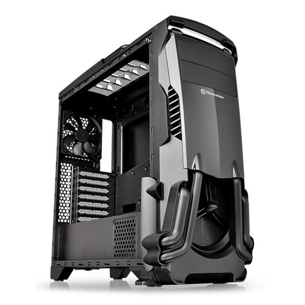 Thermaltake Versa N24 SPCC ATX - Mid Tower with PSU Cover Gaming Computer Case CA-1G1-00M1WN-00