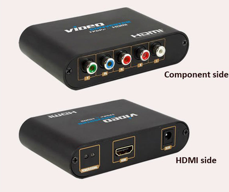 Component Video and Audio to HDMI Converter