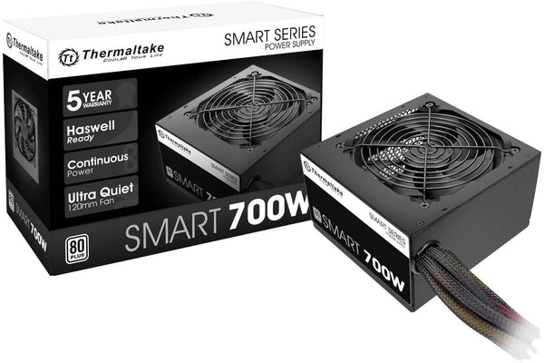 Thermaltake Smart 700W ATX 12V V2.3/EPS12V 80 Plus Certified Active PFC Power Supply SPD-0700NP