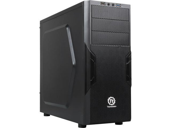 Thermaltake - Versa H22 CA-1B3-00M1NN-00 Mid-Tower Gaming Desktop Chassis/Case