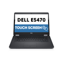 Dell Latitude E5470 TOUCH SCREEN HD Business Laptop Notebook PC (Intel Core i5-6300U, 8GB Ram, 128GB Solid State SSD, HDMI, Camera, WiFi, SC Card Reader) Win 10 Pro (Refurbished).