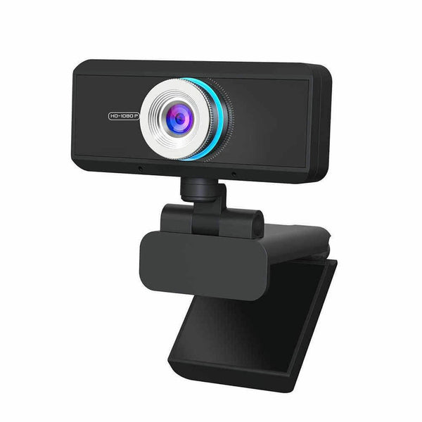 Vimtag Portable Webcam 1080P HD with Microphone for Skype, Video Calls, USB Plug and Play